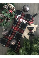 stocking classic flannel