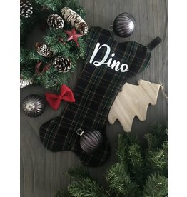 Just the stocking Pine tree