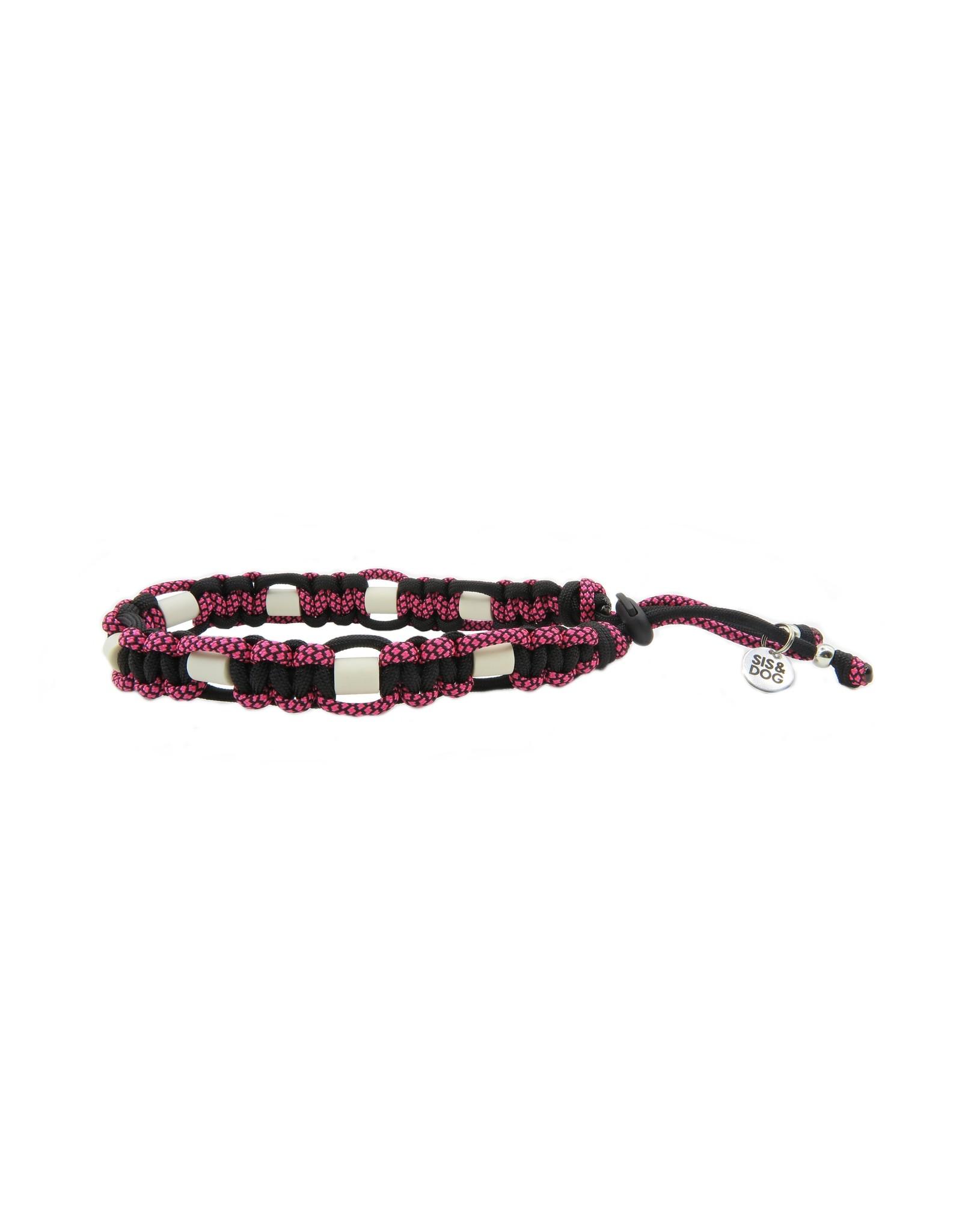 Anti tick collar Pink flat