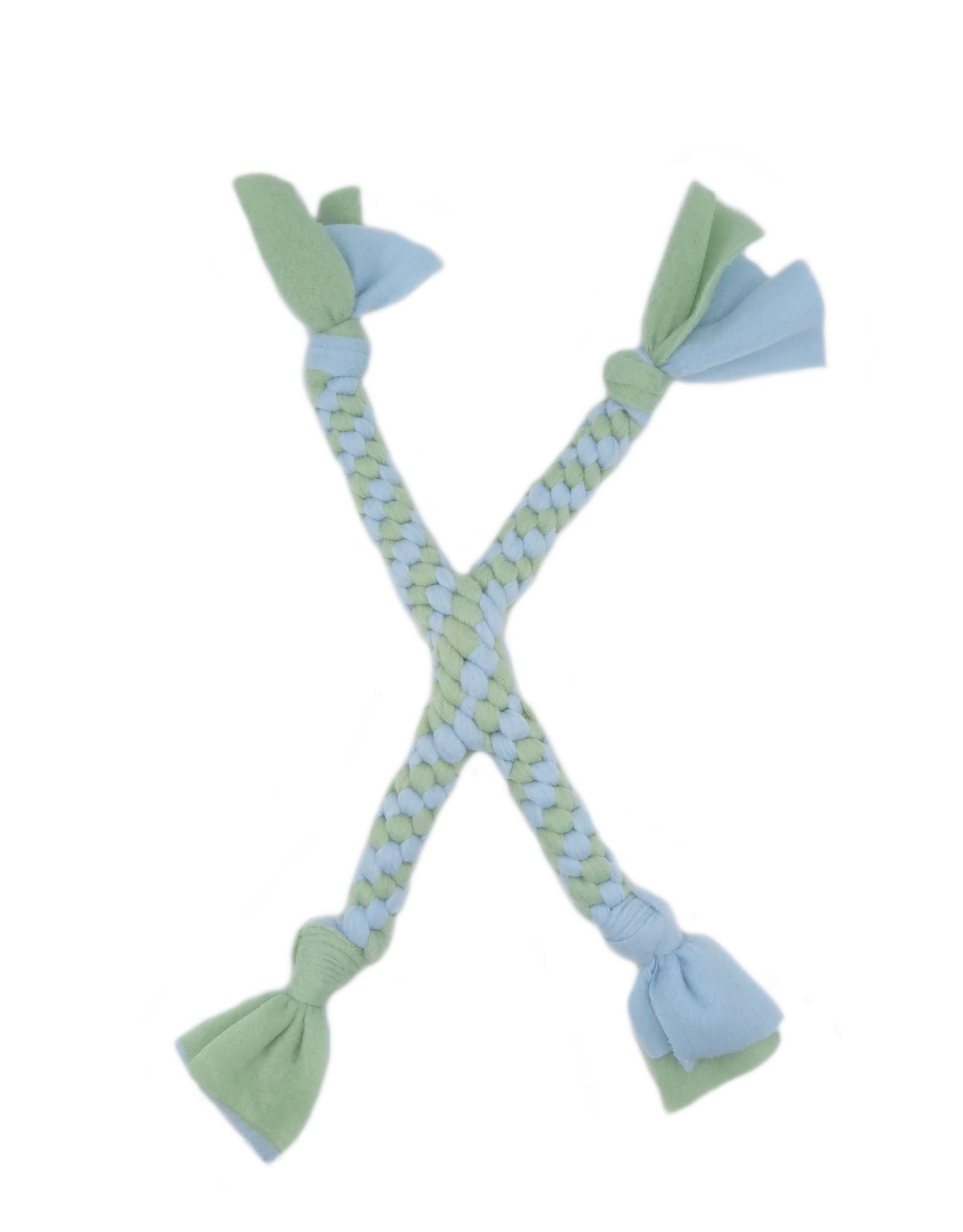 Fleece toy criss cross