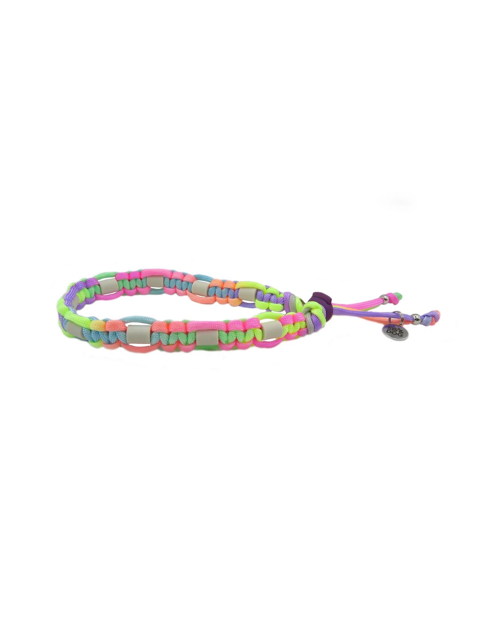 Anti tick collar rainbow flat