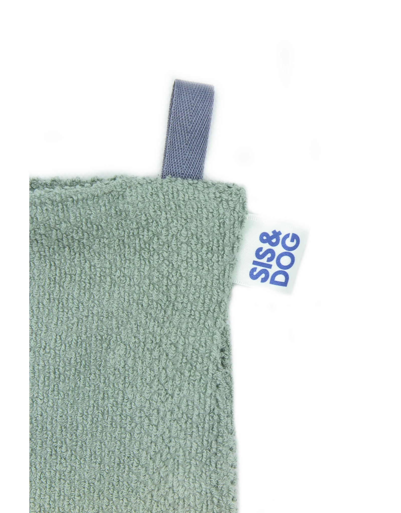 Paw towel old green