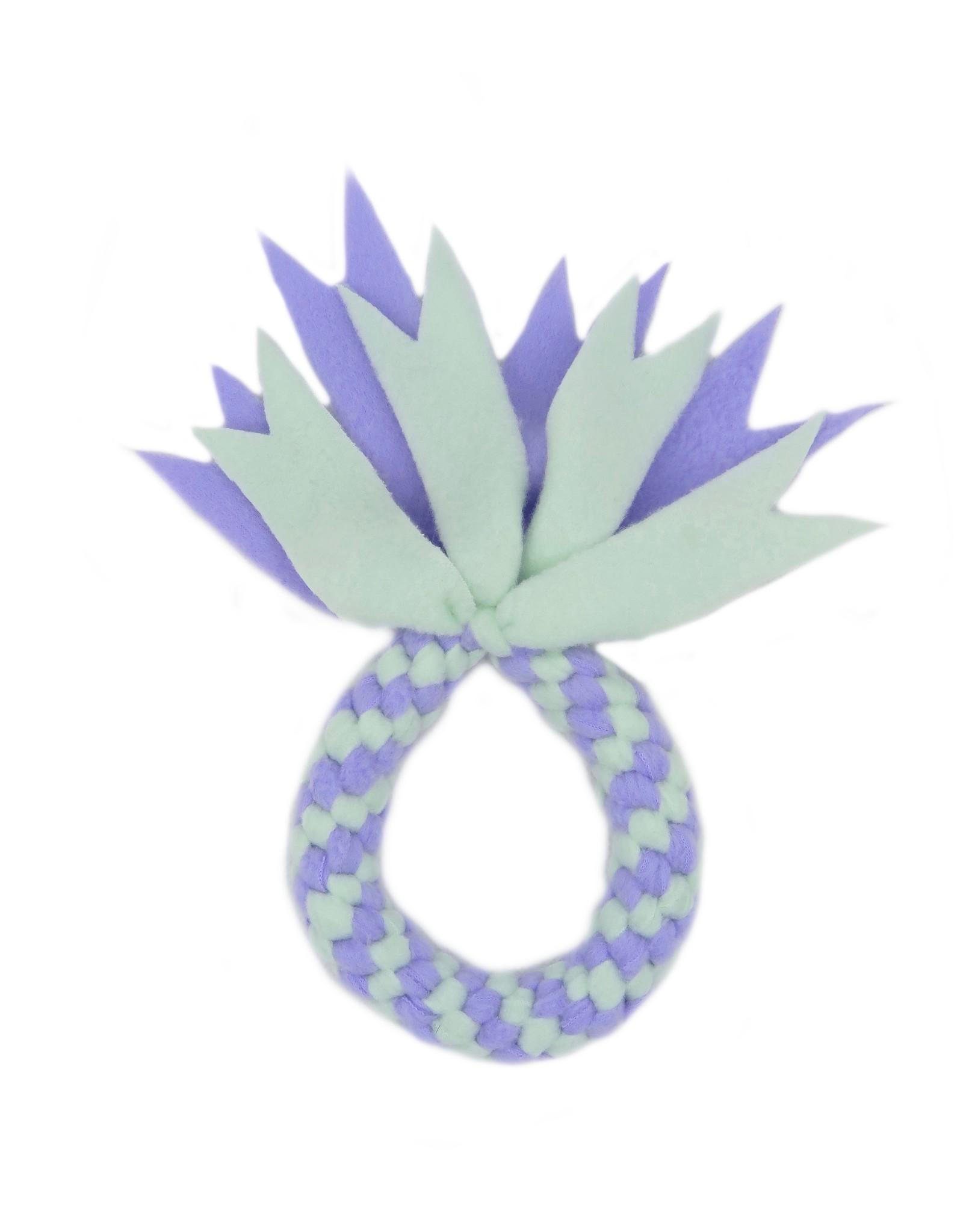 Mermaid round fleece toy