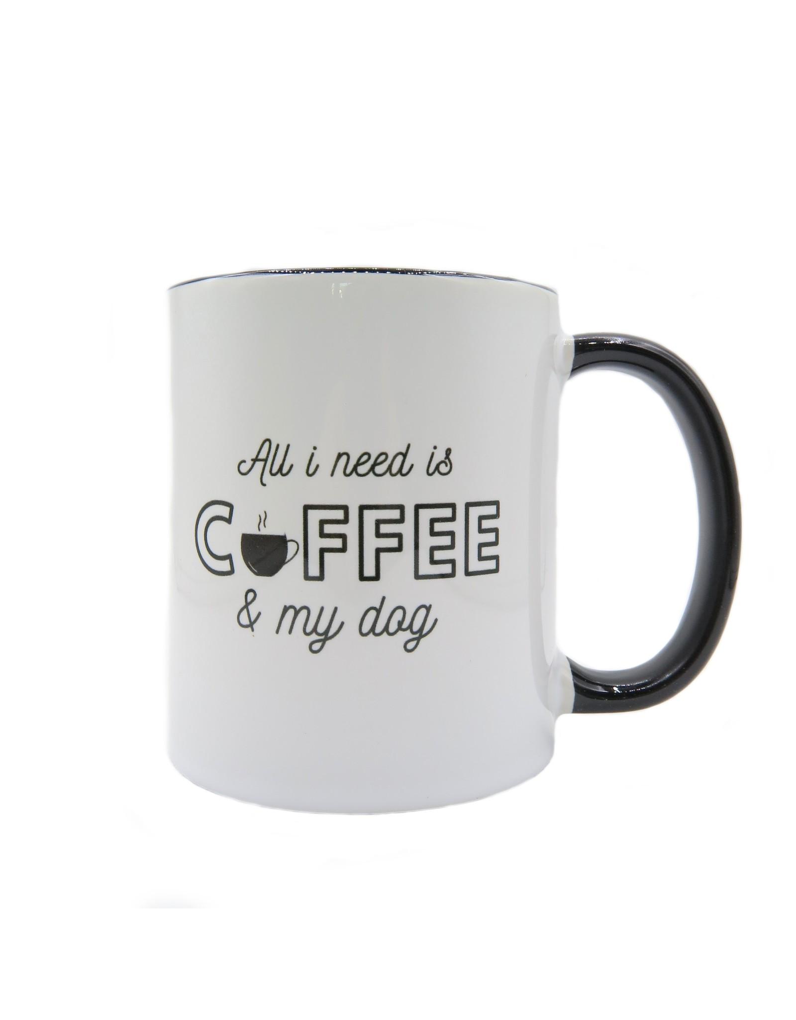Dog & Coffee mok