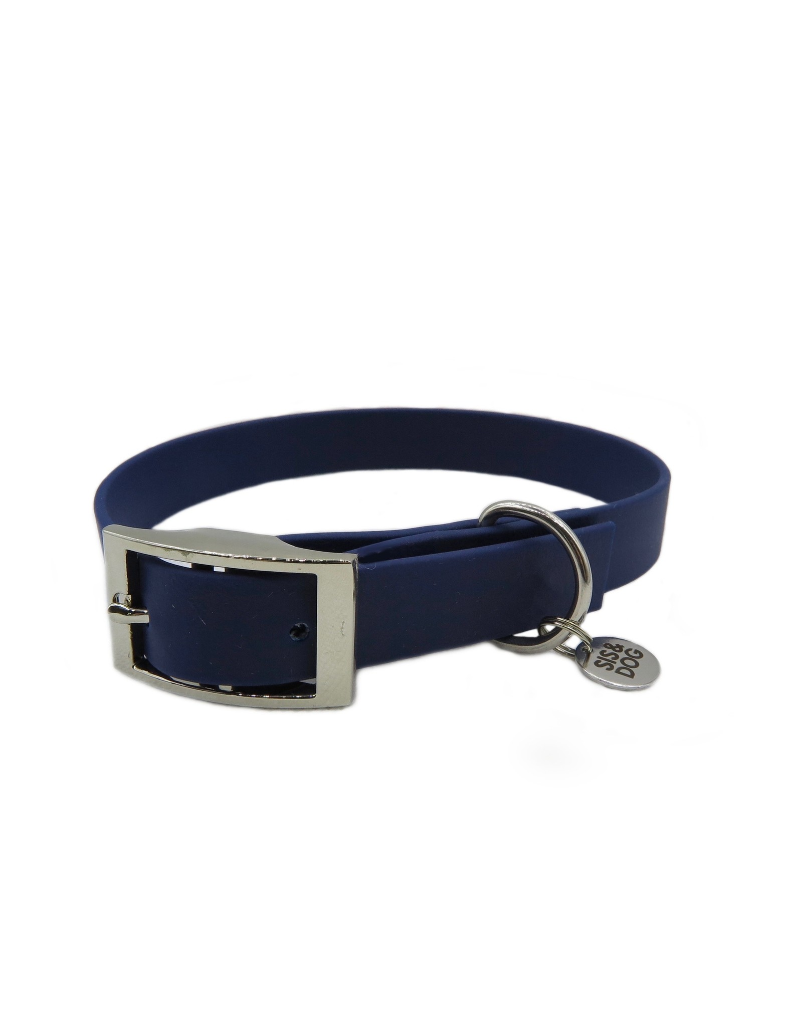 Collar dark blue wide