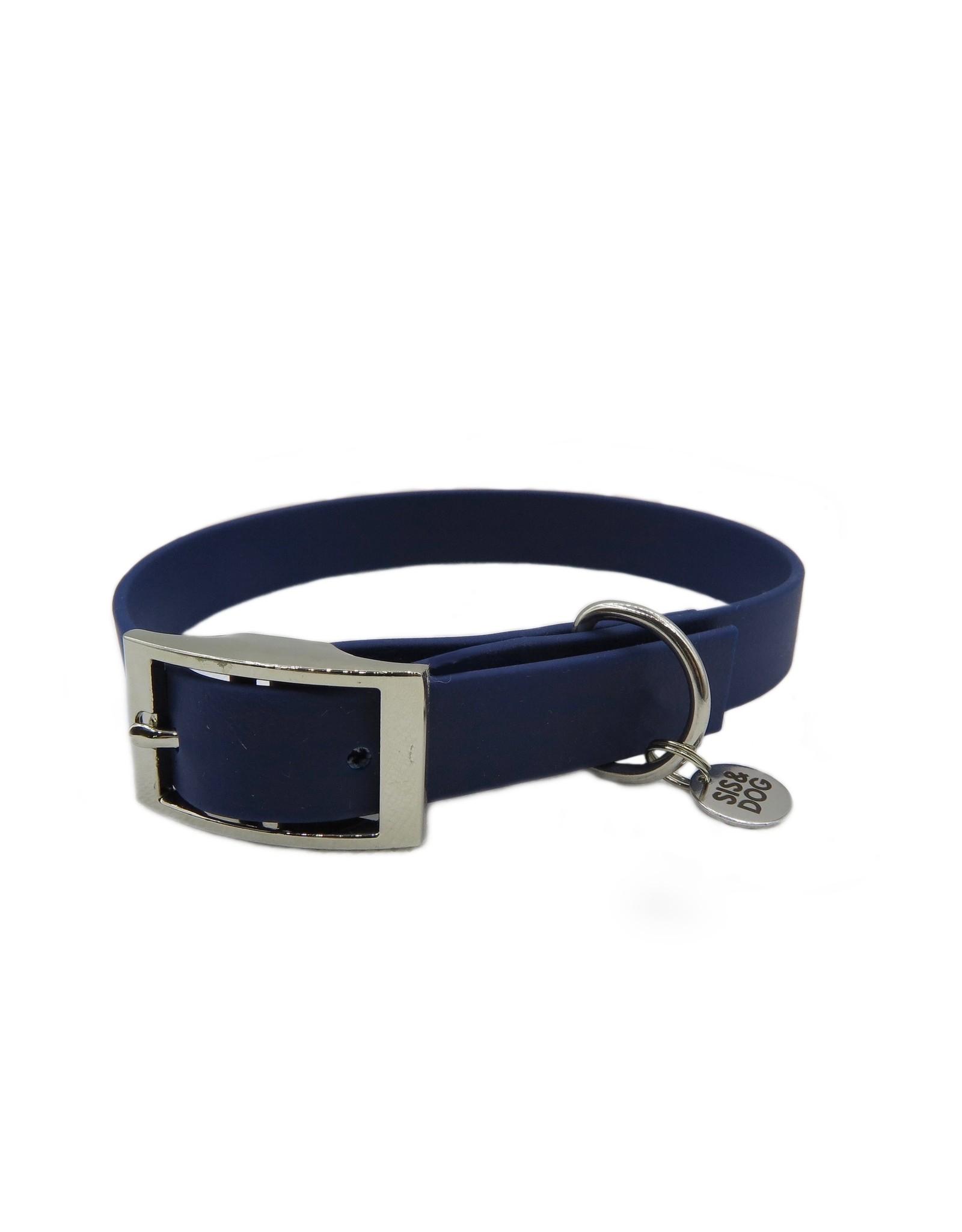 Halsband dark blue breed