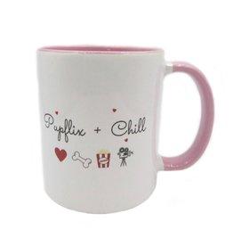 Pupflix & chill pink