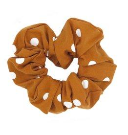 Polka scrunchie