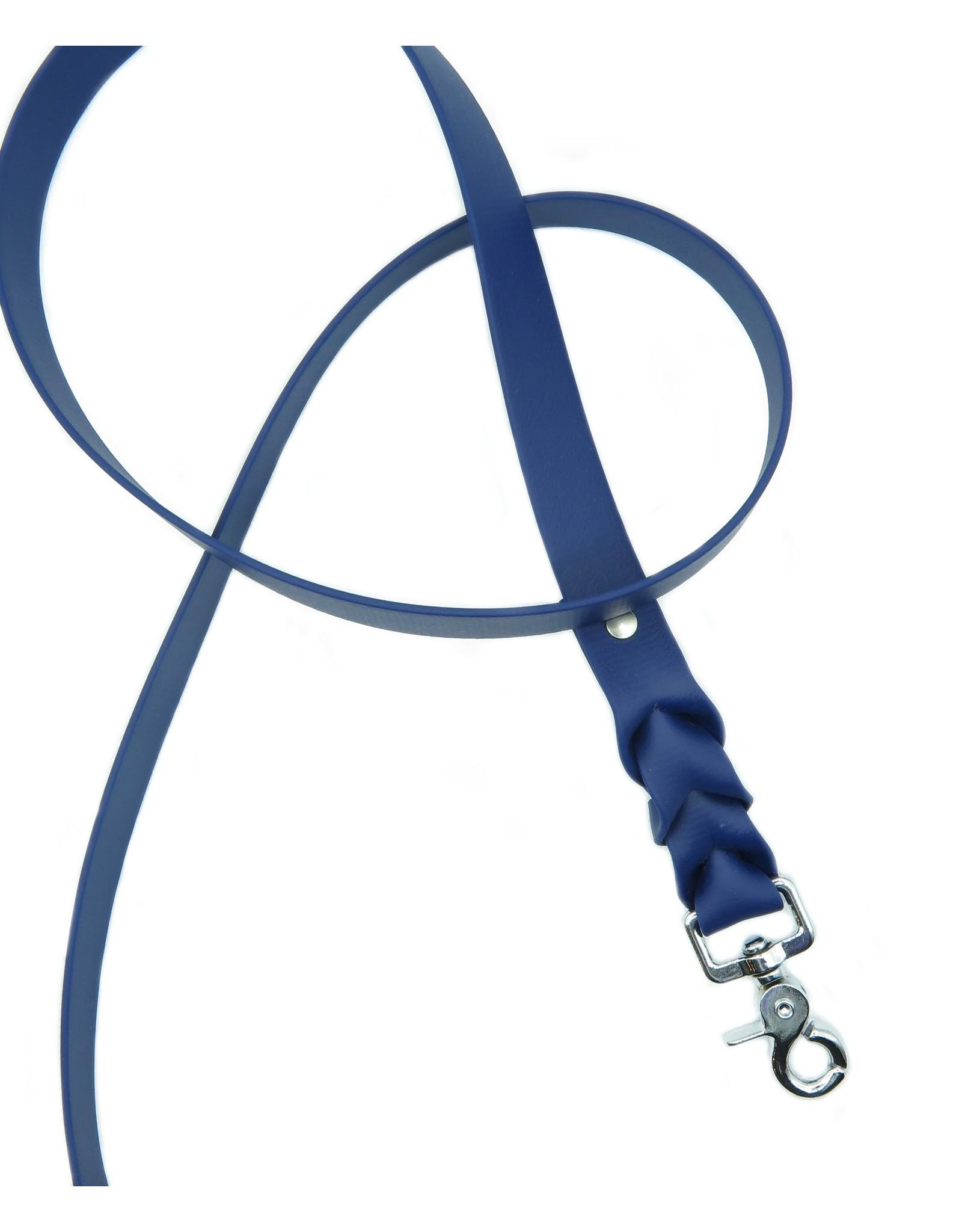 Biothane adjustable dark blue set