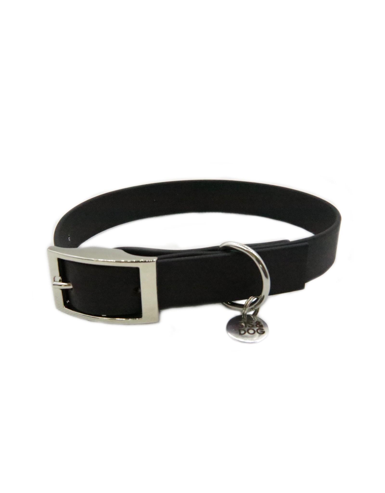 Black collar wide