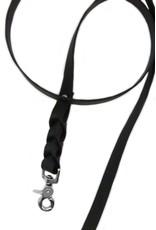 Black riem breed 160cm