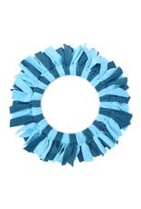 Dog frisbee blue