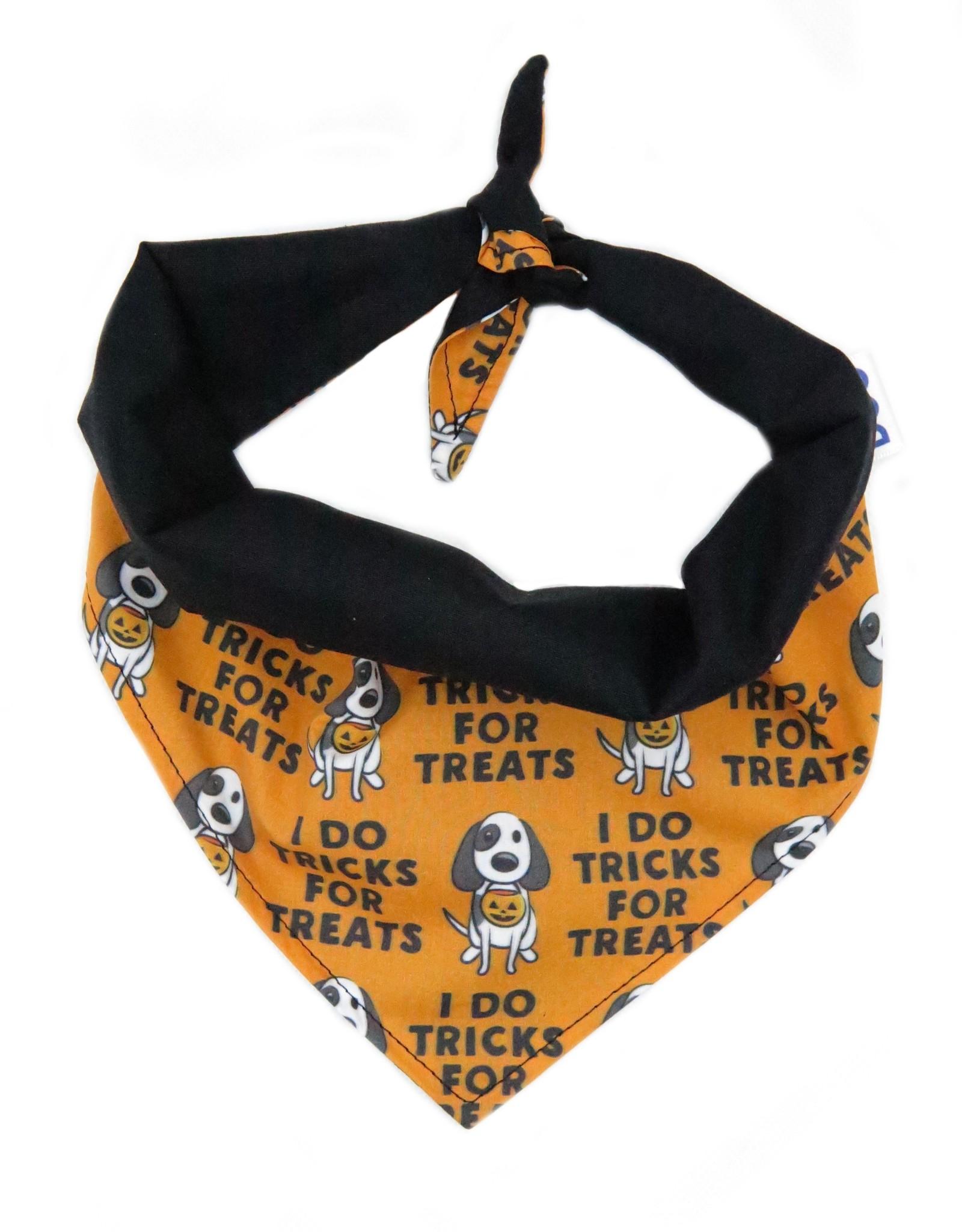 Tricks for treats bandana