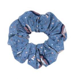 Midnight pop scrunchie