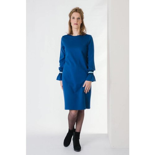 IVY LINN LISA DRESS BLUE