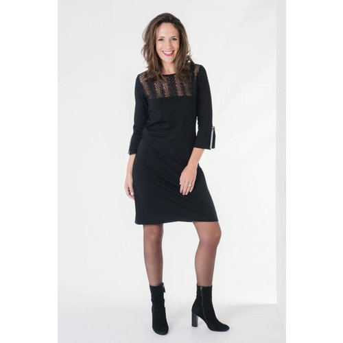 IVY LINN MIMI DRESS BLACK