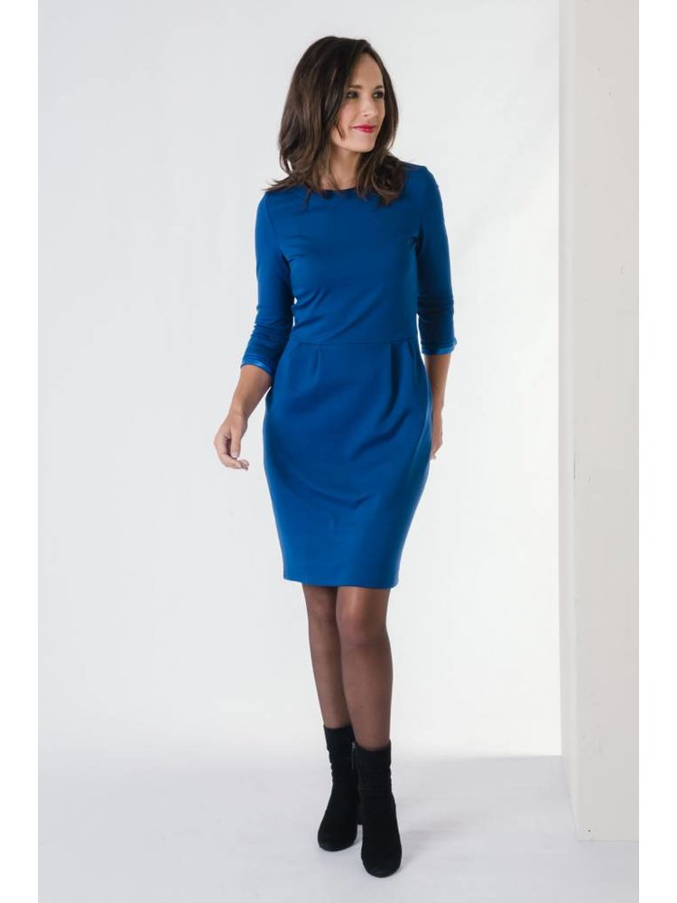 IVY LINN CITA DRESS BLUE