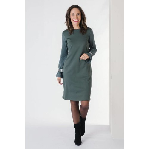 IVY LINN LISA DRESS GREEN