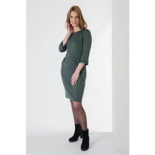 IVY LINN CITA DRESS GREEN