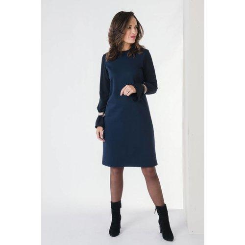 IVY LINN LISA DRESS DARK BLUE