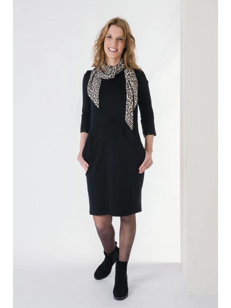 IVY LINN CITA DRESS BLACK