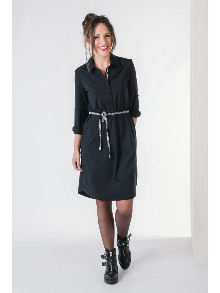 IVY LINN LIV DRESS BLACK