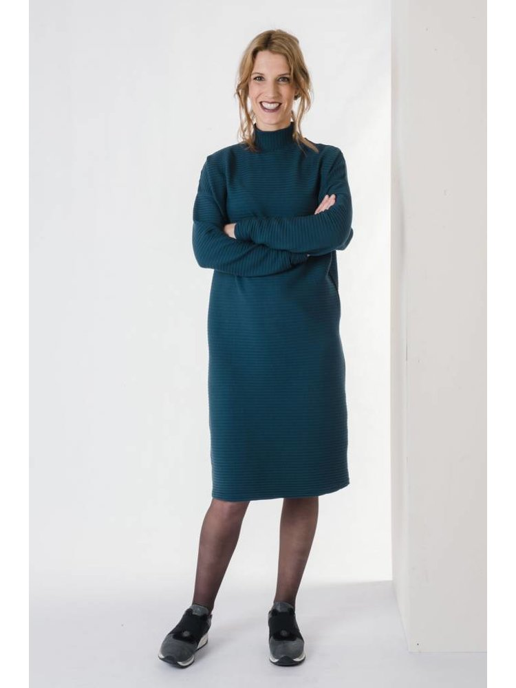 IVY LINN PIPPA DRESS DARK BLUE