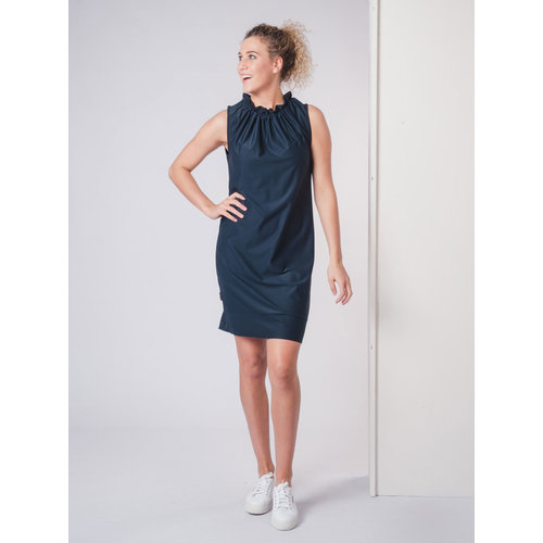 IVY LINN LOES DRESS DARK BLUE
