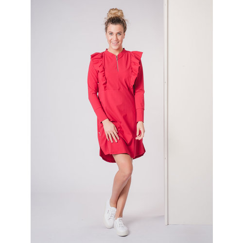 IVY LINN SUNNY DRESS RED