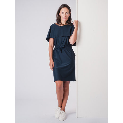 IVY LINN NINA DRESS DARK BLUE