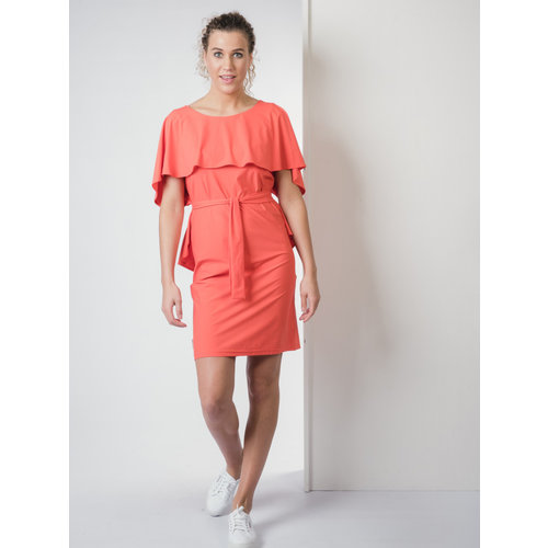 IVY LINN NINA DRESS ORANGE