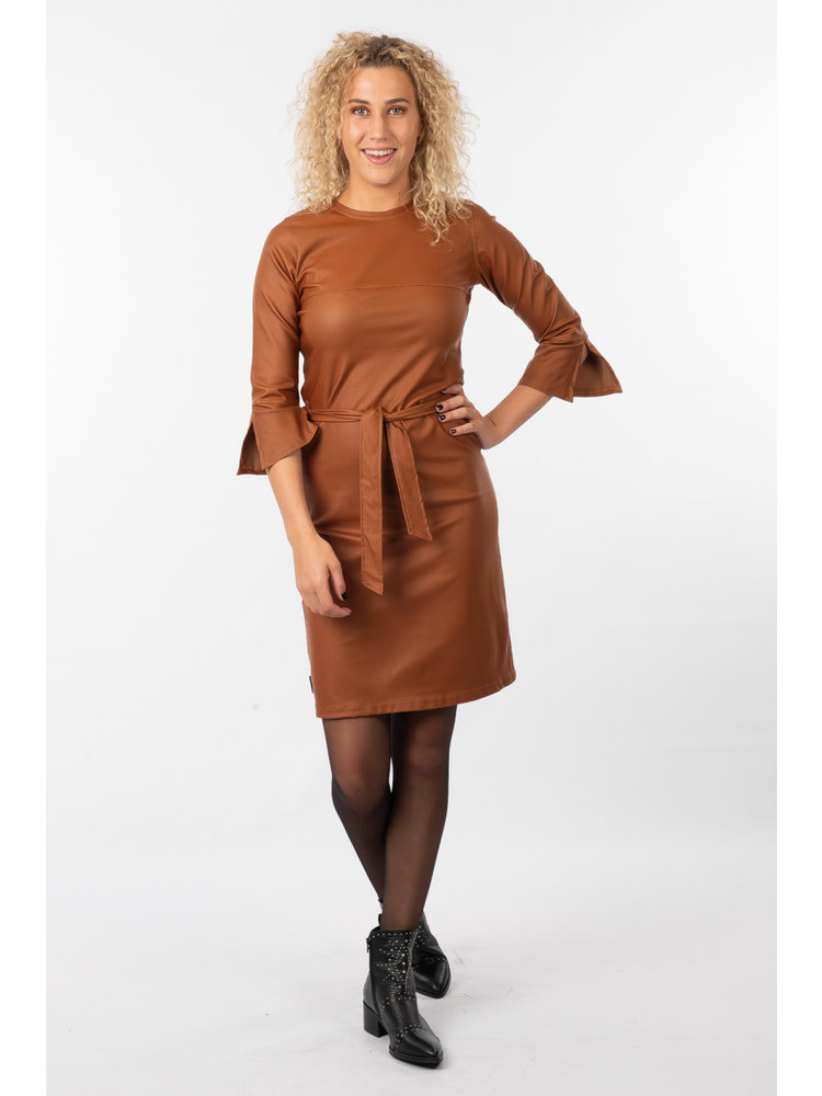 IVY LINN MIMI DRESS CAMEL