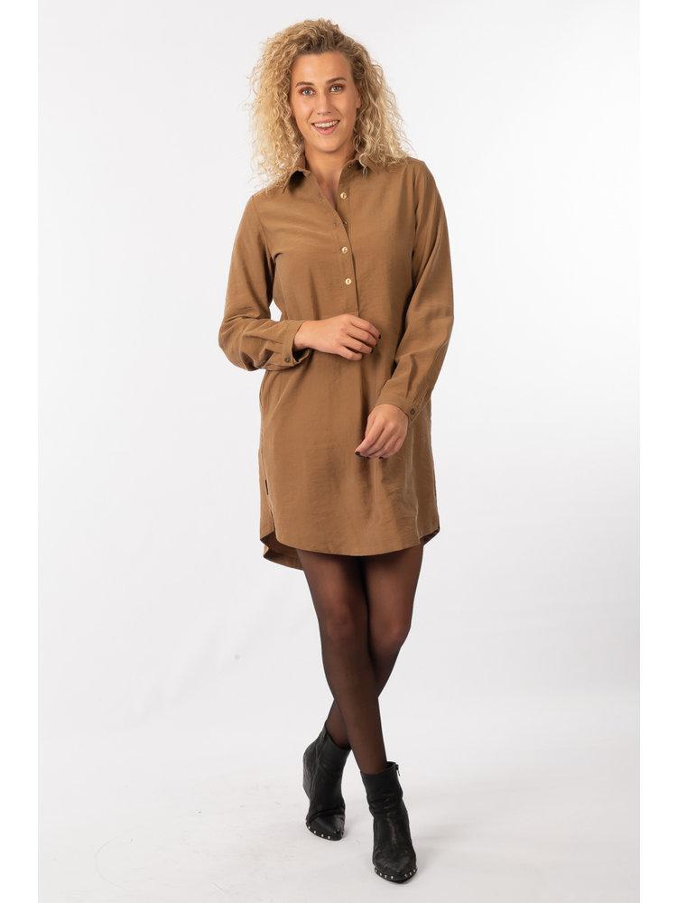 IVY LINN LIV DRESS CAMEL