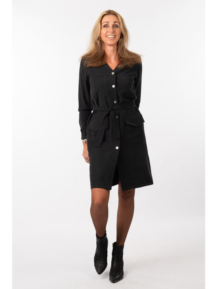 IVY LINN SUSAN DRESS BLACK