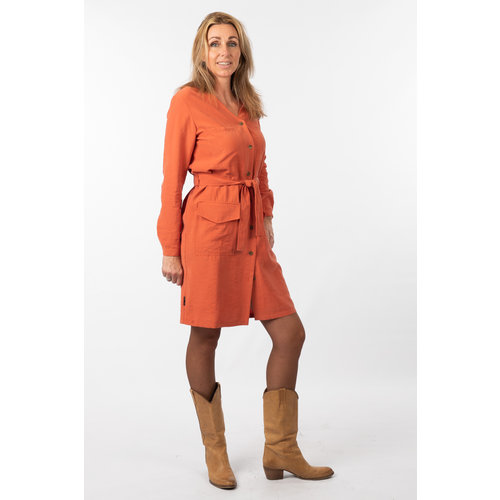 IVY LINN SUSAN DRESS ORANGE