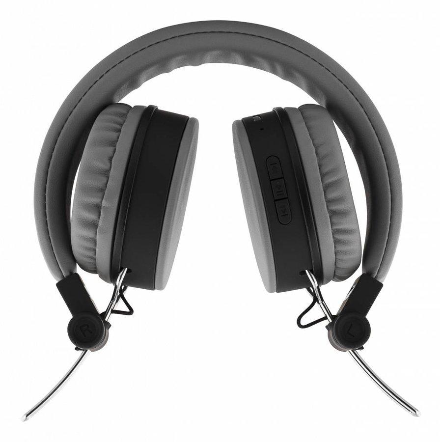 STREETZ Draadloze opvouwbare Bluetooth On-ear hoofdtelefoon met microfoon en tot 22 uur speeltijd, optioneel met kabel te gebruiken, in 5 kleuren en zeer comfortabel.-7