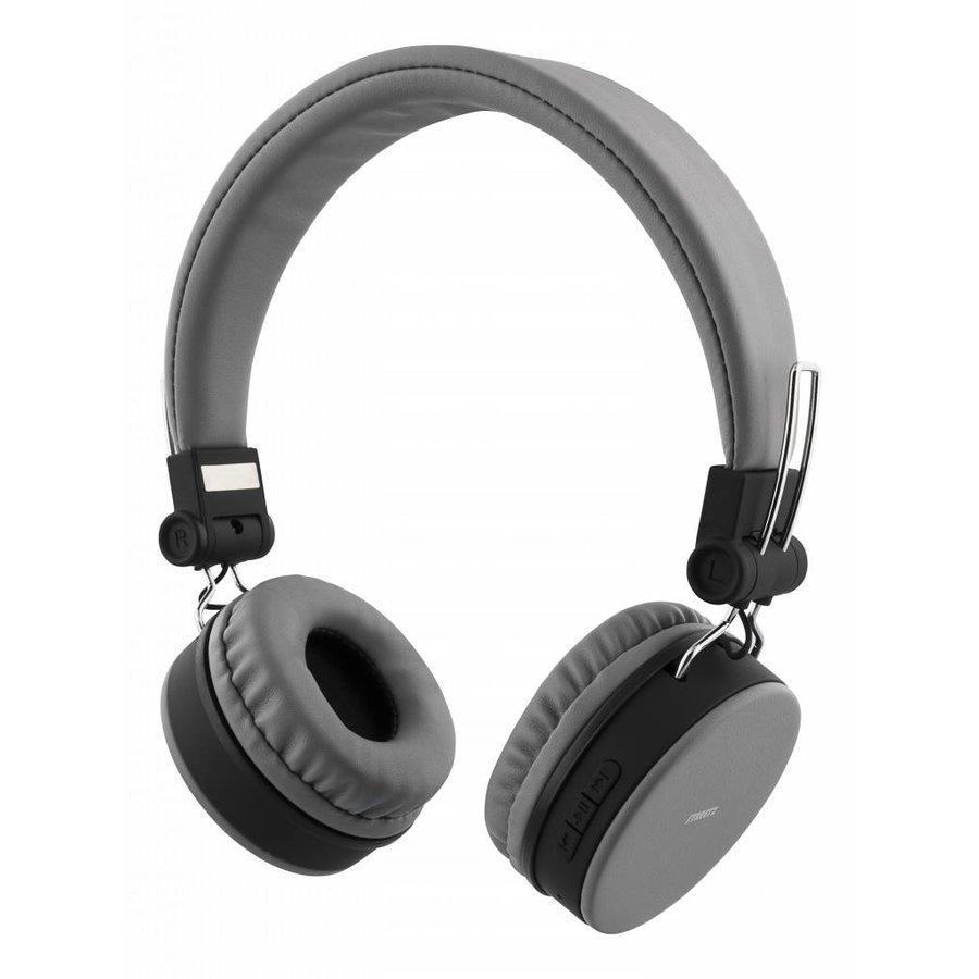 STREETZ Draadloze opvouwbare Bluetooth On-ear hoofdtelefoon met microfoon en tot 22 uur speeltijd, optioneel met kabel te gebruiken, in 5 kleuren en zeer comfortabel.-4