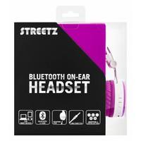 thumb-STREETZ Draadloze opvouwbare Bluetooth On-ear hoofdtelefoon met microfoon en tot 22 uur speeltijd, optioneel met kabel te gebruiken, in 5 kleuren en zeer comfortabel.-10