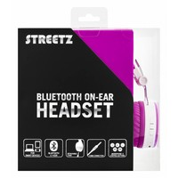 thumb-STREETZ Wireless foldable Bluetooth On-ear headset with microphone and up to 22 hours playback time, optional use with cable, in 5 colors and very comfortable to wear-10