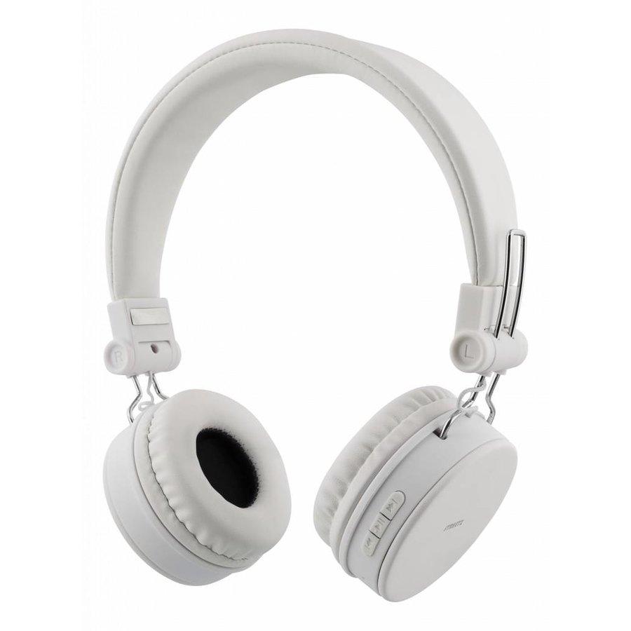 STREETZ Draadloze opvouwbare Bluetooth On-ear hoofdtelefoon met microfoon en tot 22 uur speeltijd, optioneel met kabel te gebruiken, in 5 kleuren en zeer comfortabel.-6
