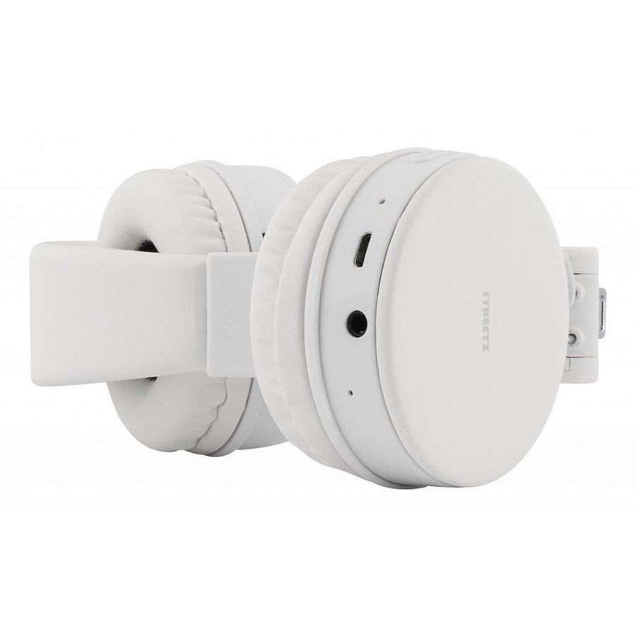 STREETZ Draadloze opvouwbare Bluetooth On-ear hoofdtelefoon met microfoon en tot 22 uur speeltijd, optioneel met kabel te gebruiken, in 5 kleuren en zeer comfortabel.-8