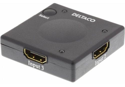 Deltaco HDMI-7002 Automatische HDMI Switch 3 naar 1