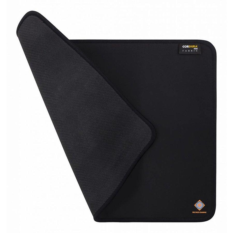 DELTACO GAMING GAM-004 Gaming Mousepad, Cordura Fabric, durable, anti-slip, washable, 350x260, black-1