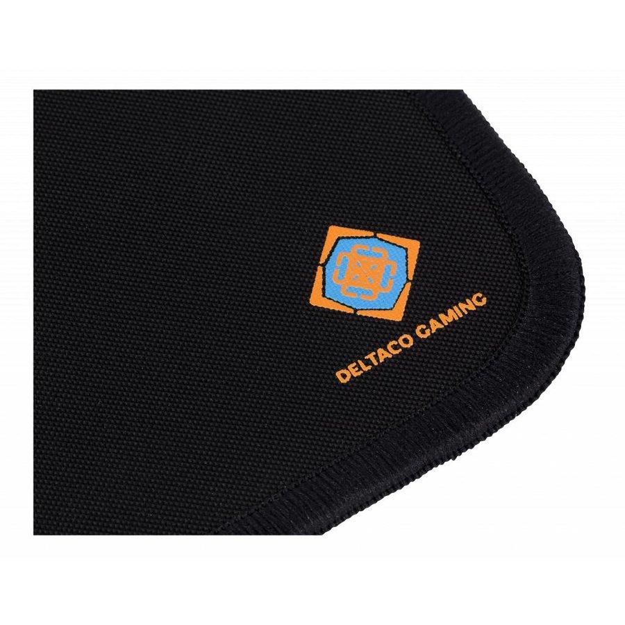 DELTACO GAMING GAM-004 Gaming Mousepad, Cordura Fabric, durable, anti-slip, washable, 350x260, black-3