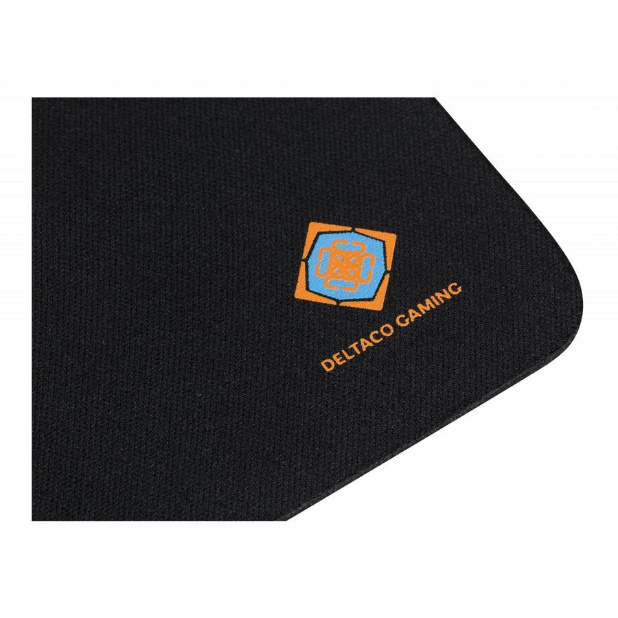 DELTACO GAMING GAM-005 Gaming Mousepad, 320 mm Neopreen washable, durable, anti slip, 320x270, black-3