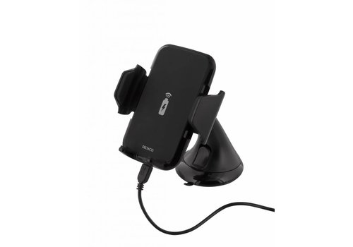 Deltaco QI-1018  Wireless Qi car charger