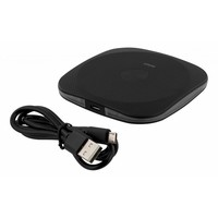 thumb-Deltaco Wireless charging pad (Qi) Draadloze oplader wit voor o.a. iPhone X, 8, Galaxy S8, Galaxy S7-8
