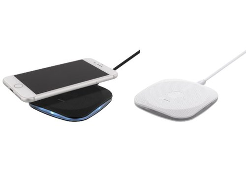 Deltaco Wireless Qi charging pad, 5W, Draadloze oplader