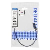 thumb-Deltaco USB naar USB-C kabel gevlochten 3A 60W USB 3.1 Gen. 1 space grijs in verschillende lengtes-3
