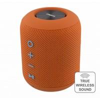thumb-STREETZ  Spatwaterdichte stereo Bluetooth-luidspreker 2x5W, IPX5, TWS in zwart, blauw en oranje-4